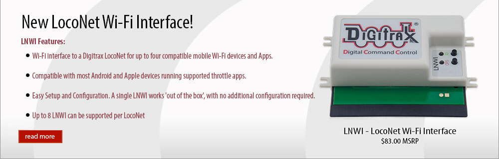 LocoNet WiFi Interface