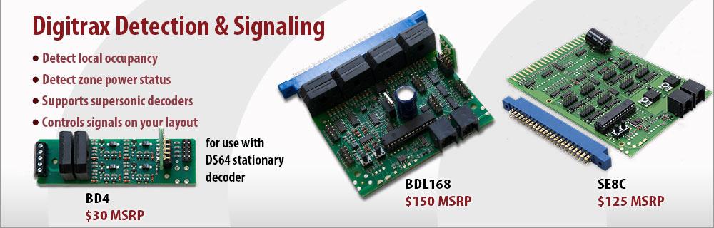 Digitrax Detection and Signaling
