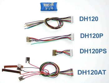 1 Amp Mobile Decoder, DCC Medium Plug on Long Harness