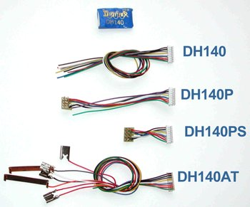 1 Amp Decoder With DCC Medium Plug on Long Harness