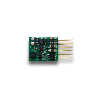 1 Amp Z / N / HO Scale Decoder with 6 Pin NEM 651 type plug