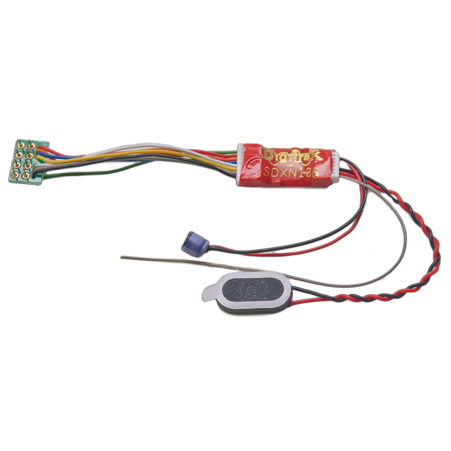 Premium 1 Amp Sound Decoder N Scale on