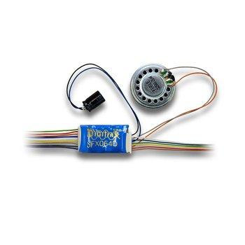 1 Amp HO Scale SoundFX+Function Decoder