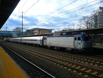 Amtrak AEM 7 Electric Loco
