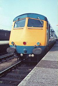 BR Class 251 Blue Pullman