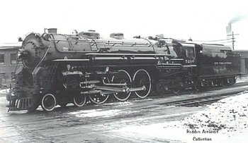 Canadian National K5a 4-6-4 Type