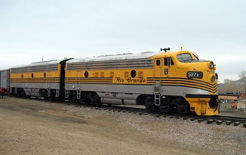 EMD 567C-16 F9PH Non Turbo (Roots) 1500HP