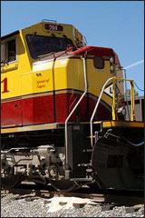 EMD SD70ace, Western Pacific #1983 Diesel Scheme
