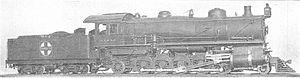 LV 2-10-2 Unique 4-6-2 Locomotive