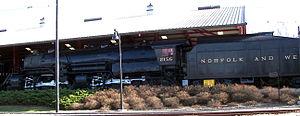 Norfolk & Western 2156 Y6B