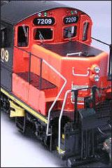 SD40-2 Diesel GM Diesel Scheme