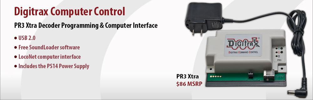 Digitrax Computer Control