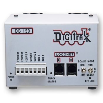 5 Amp DCC Command Station/Booster with Intelligent AutoReverse