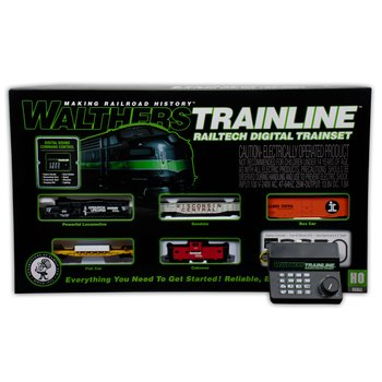 All-in-one Command Station/Booster/Throttle/Sound System for WalthersTrainline RailTech Train Set
