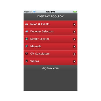 Digitrax Tool Box App