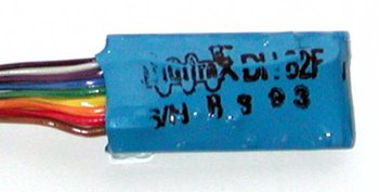 1 Amp HO Scale Mobile Decoder