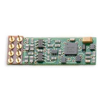 1 Amp N / HO Scale Integrated DCC Medium Plug Mobile Decoder