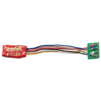 1 Amp Z / N / HO Scale Decoder with DCC Medium Plug with 1 ' Harness