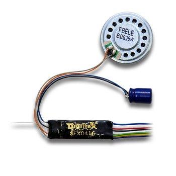 1 Amp HO/N SoundFX & Function Decoder