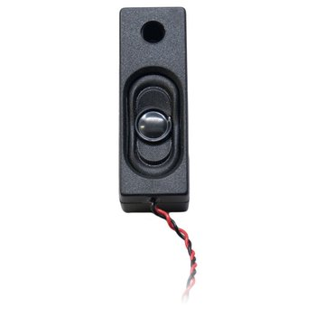 Rectangular 53mm x 18mm x 14mm 32 Ohm Box Speaker with enclosure & wires
