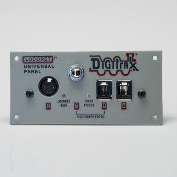 """Universal Panel, RJ12, 5 Pin Din & 1/4"""" Stereo Plug"""