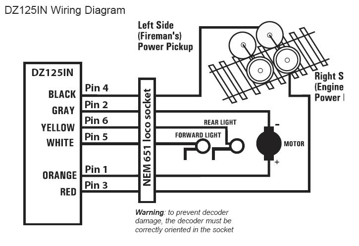 Dcc Decoder Wiring Diagram Data Set