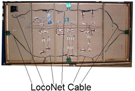 kb205 case study texas southwestern part 6 of 11 wiring the the black cable is the loconet cable which is connected to the back of the zephyr and the is daisy chained to the other loconet devices in this case